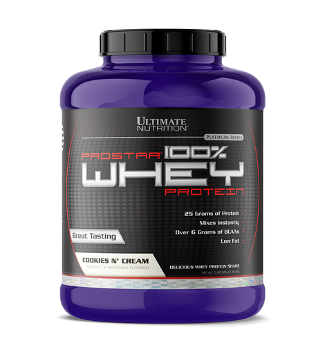 Ultimate nutrition 100% whey protein cookies&cream