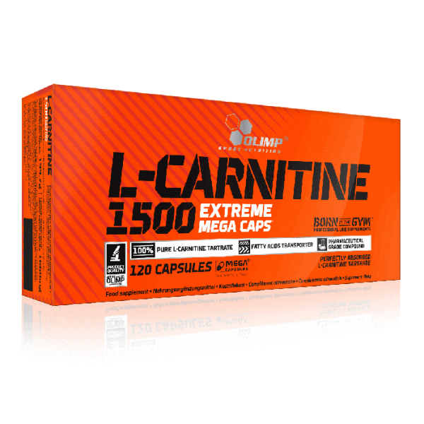 Olimp L-carnitine 1500 extreme mega caps 120capsules