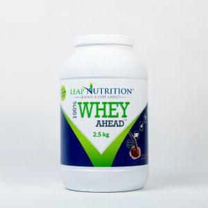 Leap nutrition 100% whey ahead 2.5kg chocolate