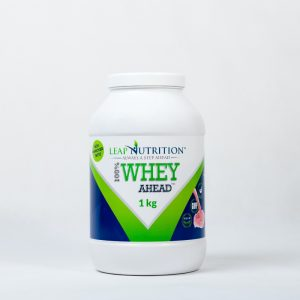 Leap nutrition 100% whey ahead strawberry