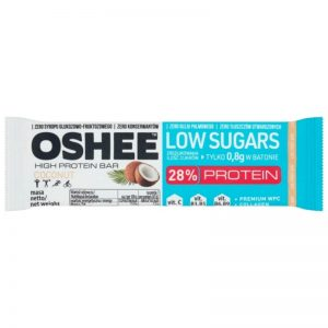 Oshee low in sugar 28% protein cocout