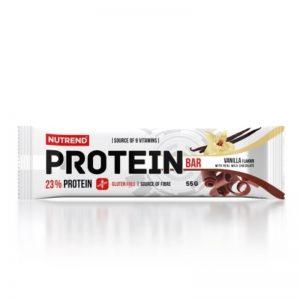 Nutrend protein bar vanilla choc