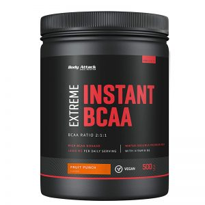 Body Attack exreme instant Bcaa fruitpunch