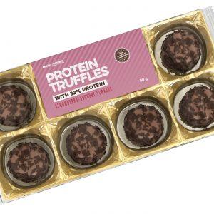 Body attack protein truffles starwberry yoghurt