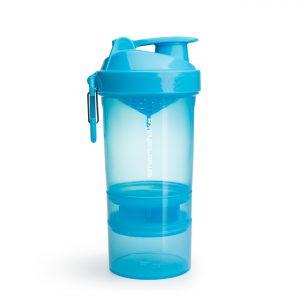 Smartshake protein shaker blue