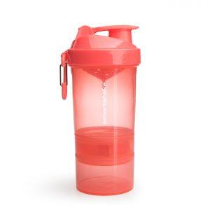 Smartshake protein shaker coral