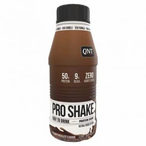 QNT pro shake instant drink protein belgian chocolate