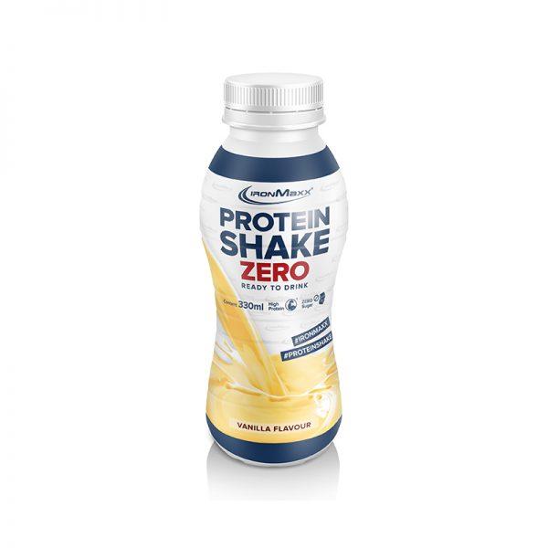Ironmaxx protein shake zero vanilla instant drink