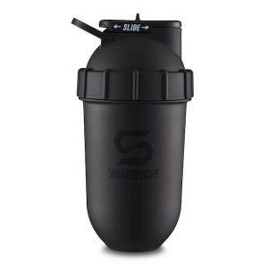 ShakeSphere shaker matte black protein shaker
