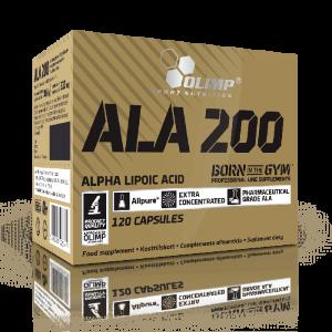 Olimp ALA 200 alpha lipoic acid 120 capsules
