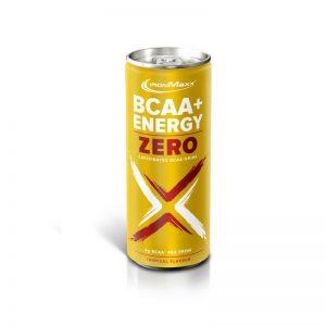 Ironmaxx bcaa+energy zero drink