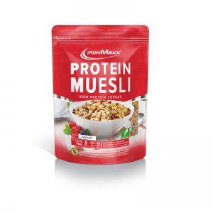 ironmaxx protein muesli chocolate