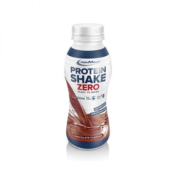 Ironmaxx protein shake zero instant drink chocolate