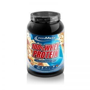 Ironmaxx 100% whey protein cookies ansd creme