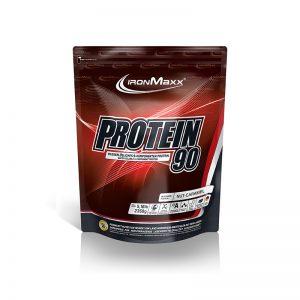Ironmaxx protein 90 peanut caramel