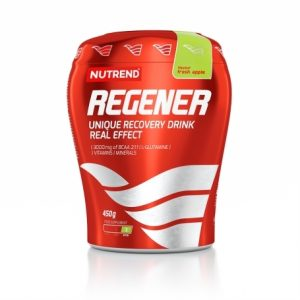 Nutrend regener unique recovery drink real effect green apple flavour