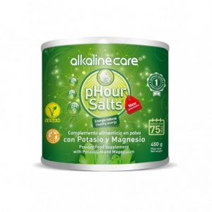 Alkalinecare phour salts with potassium and magnesium