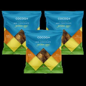 Cocoa+ easter egg golden