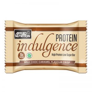 Applied Nutrition indulgence protein bar belgian caramel flavour