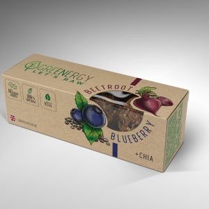 GreenEnergy blueberry beetroot raw energy balls