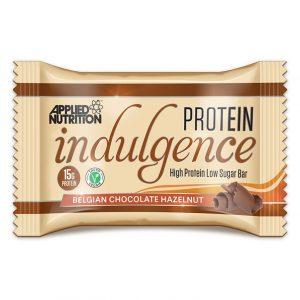 Applied Nutrition Indulgence protein bar Belgian chocolate hazelnut