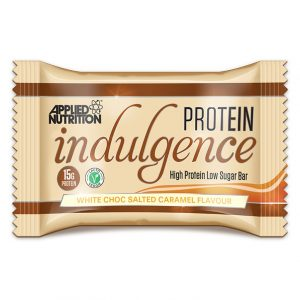 Applied Nutrition indulgence protein bar white choc salted caramel flavour