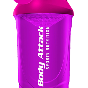 Body attack purple shaker 600ml