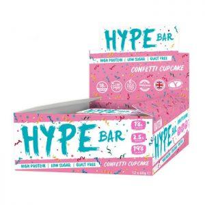 oatein hype bar confetti cupcake