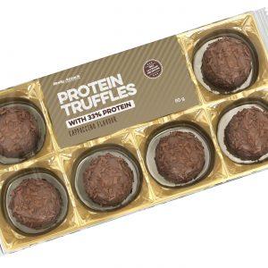 Body attack protein truffles capuccino