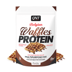QNT protein waffles chocolate