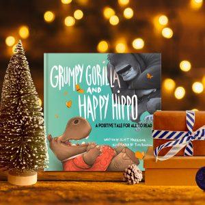 Grumpy Gorilla and Happy Hippo