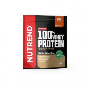 Nutrend 100% whey protein caramel latte