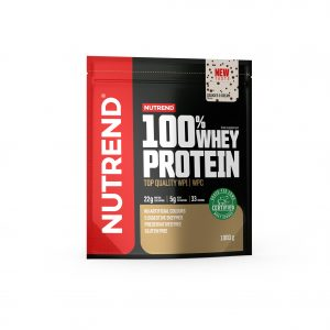 Nutrend 100% whey protein cookies and crream