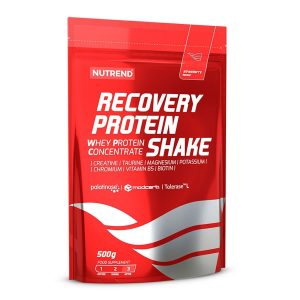 Nutrend recovery protein shake strawberry