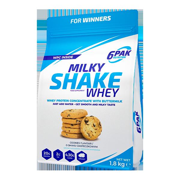 6PAK Milky Shake cookies and cream