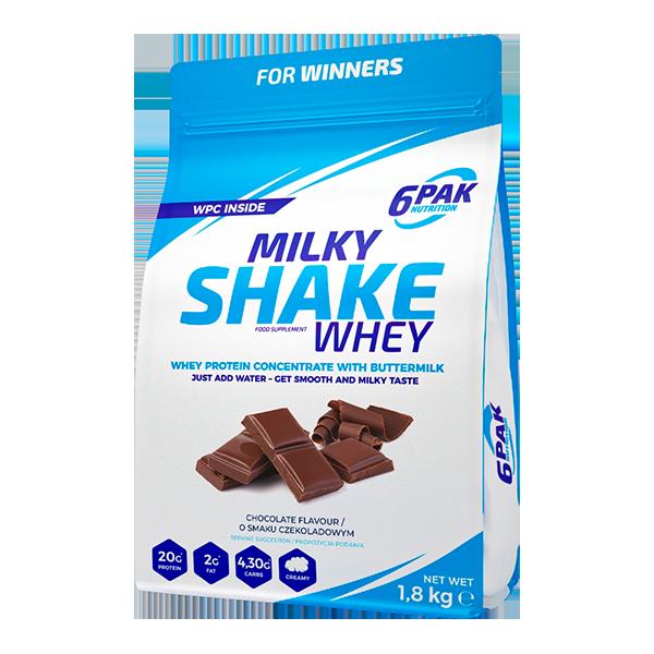 6PAK Milky Shake whey Chocolate