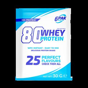 6pak 80 Whey Protein