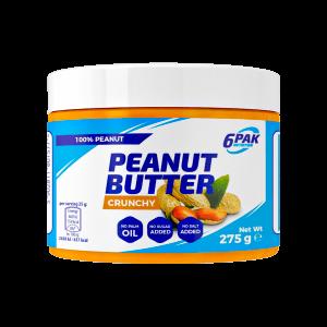 6pak peanut butter crunchy