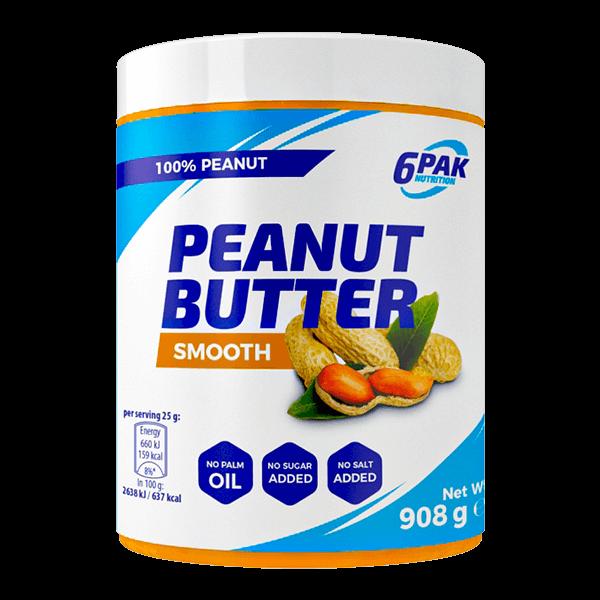 6PAK peanut butter
