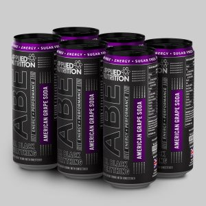 applied nutrition abe drink can american grape soda