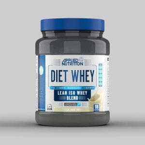Applied Nutrition Diet Whey Vanilla ice cream