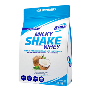 6pak Milky Shake Whey coconut