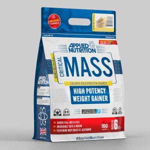Applied Nutrition Critical Mass High potency weight gainer banana flavour