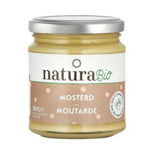 Natura Bio Organic Mustard Sauce