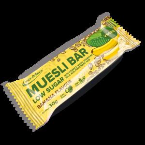 Ironmaxx Muesli Bar Low sugar Banana