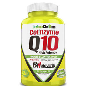 Beverly nutrition nature chrome coenzyme q10 high potency 60 caps