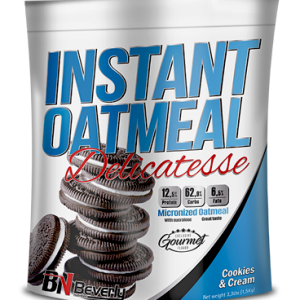 Beverly nutrition instant oatmeal delicatesse cookies and cream flavour