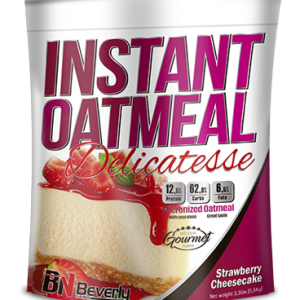 Beverly nutrition instant oatmeal delicatesse strawberry cheesecake flavour