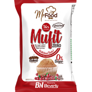 Beverly Nutrition Mufit Protein Muffins with cranberries are delicious protein muffins