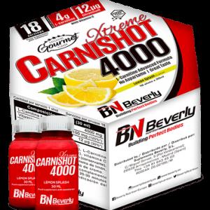 Beverly Nutrition Xtreme-carnishots 4000 Lemon Flavour